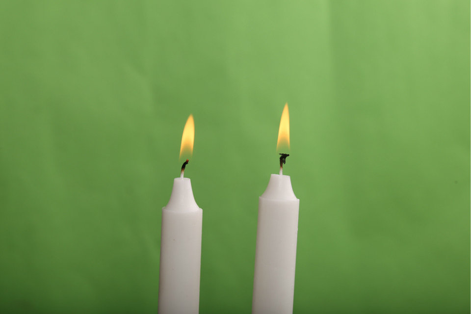 Hot-sale White Candles
