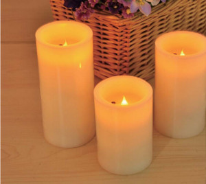 Wax LED candle