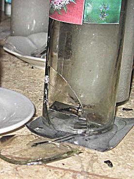 Glass jar candles